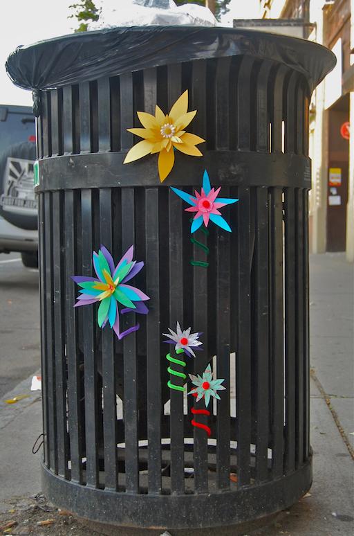 Paper Flower Street Art Boston