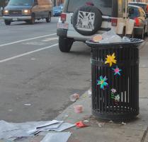 Paper Flower Street Art Gabrielle Peck